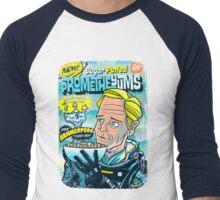 prometheyums Men's Baseball ¾ T-Shirt