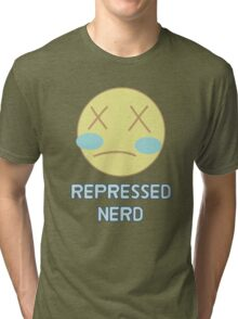 Repressed Nerd Pearl - Steven Universe Inspired  Tri-blend T-Shirt
