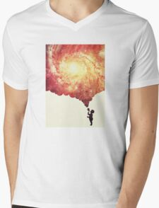 The universe in a soap-bubble! Mens V-Neck T-Shirt