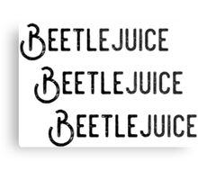 Beetlejuice, Beetlejuice, Beetlejuice Metal Print