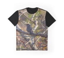 Dumetella Carolinensis - Gray Catbird | Montauk, New York Graphic T-Shirt