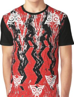 AZTEC ABSTRACT Graphic T-Shirt