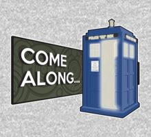 Come Along, Open Door Tardis Kids Clothes