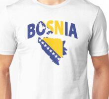 Bosnia flag Unisex T-Shirt