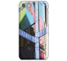 42nd and broadway iPhone Case/Skin
