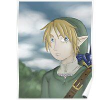 Twilight Princess Link Poster