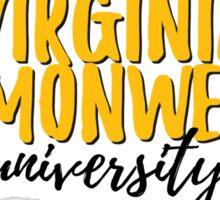 Virginia Commonwealth University Sticker