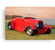 1929 Ford 'Rumble Seat' Roadster Canvas Print