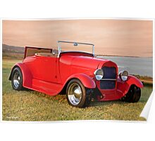 1929 Ford 'Rumble Seat' Roadster Poster