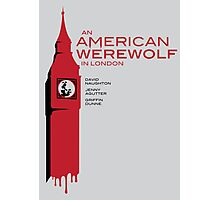 """""""An American Werewolf In London"""" Photographic Print"""
