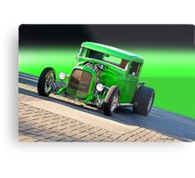 1934 Ford 'The Green Mile' Pickup Metal Print