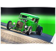 1934 Ford 'The Green Mile' Pickup Poster