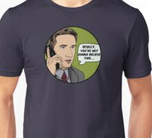 Pop Mulder Unisex T-Shirt