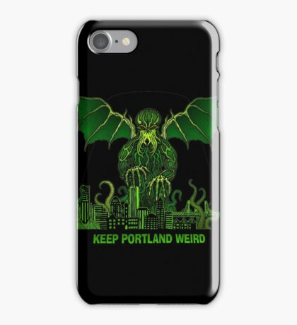 Keep Portland Eldritch iPhone Case/Skin