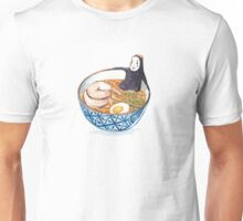 No Face in Ramen Bath Unisex T-Shirt