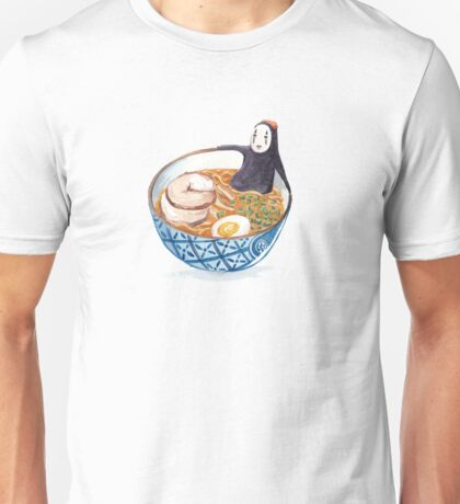No Face in Ramen Bath Unisex T-Shirt