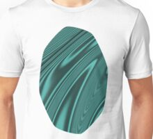 Abstract Fractal Colorways 03 Malachite Turquoise Unisex T-Shirt