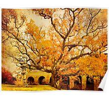 Autumn Oak Poster