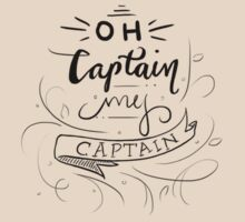 Oh Captain, My Captain T-Shirt