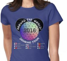 Drink Around the World Drinking Team 2016 Womens Fitted T-Shirt