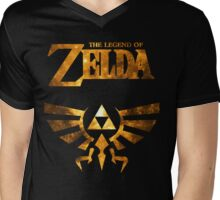LoZ Minimalist Nebula Design Mens V-Neck T-Shirt