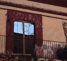 Derelict house in Oaxaca, Mexico by Maggie Hegarty