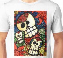 Day of the Dead Sugar Skulls Unisex T-Shirt