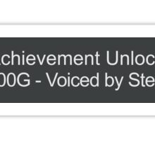 Voiced By Steve Blum Sticker