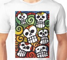 The Sugar Skull Meeting Unisex T-Shirt