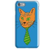 Business Cat  iPhone Case/Skin