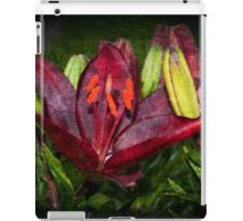 Red Lily iPad Case/Skin