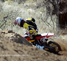 """Catch Me ... If you can""!  Honda Rider,  #6, I-5 MX, Gorman, CA USA  by leih2008"