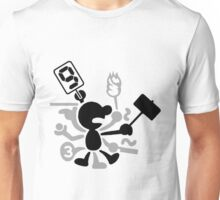 ~ Mr. Game & Watch ~  Unisex T-Shirt