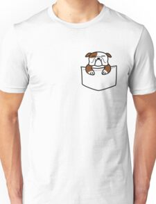Pocket Bulldog Unisex T-Shirt