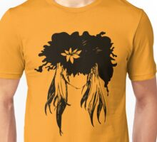 Her mind - an explosion of ink petals  Unisex T-Shirt
