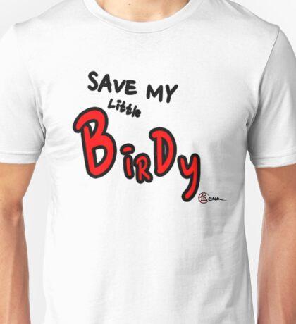 Save My Little Birdy (EG-000002) Unisex T-Shirt