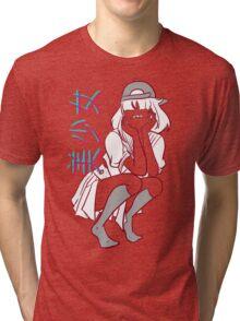 Girl= Tri-blend T-Shirt