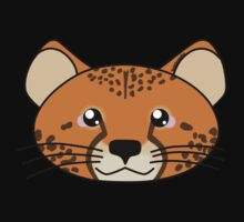 Cheetah - African Wildlife Kids Tee