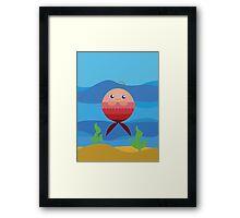 Baby Mermaid Framed Print