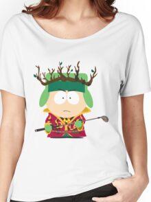 Kyle Broflovski Elf King Women's Relaxed Fit T-Shirt