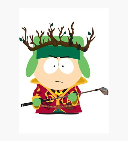 Kyle Broflovski Elf King Photographic Print