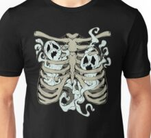 Ribcage Ghosts Unisex T-Shirt