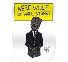 Werewolf of Wall Street Poster