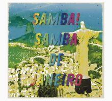 Samba de Janeiro – Square - A Hell Songbook Edition - Paralympic Games Rio de Janeiro - Brazil One Piece - Short Sleeve