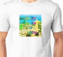 Samba de Janeiro – Square - A Hell Songbook Edition - Paralympic Games Rio de Janeiro - Brazil Unisex T-Shirt