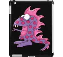 Funny Purple People Eater / Dinosaur iPad Case/Skin
