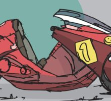 Kaneda's Bike Sticker