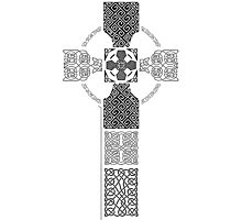 Celtic Cross (2) Photographic Print
