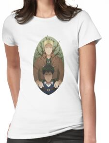 Bertholdt and Reiner Womens Fitted T-Shirt