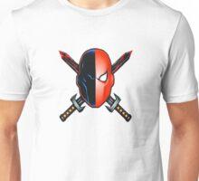 Deathstroke Mask logo Unisex T-Shirt